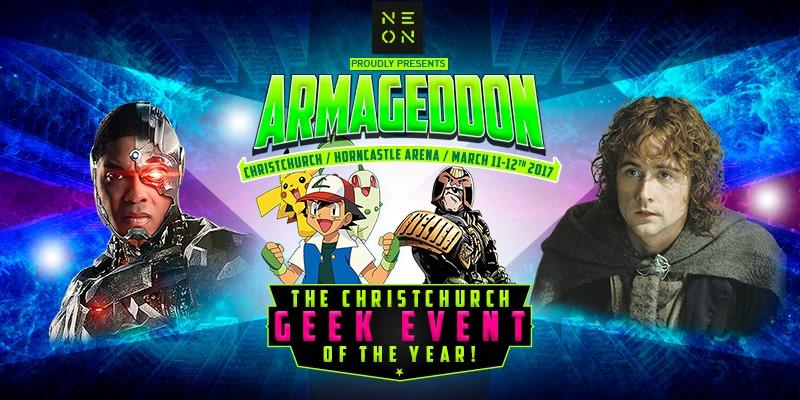 ARMAGEDDON EXPO 2017 - VIP Passes