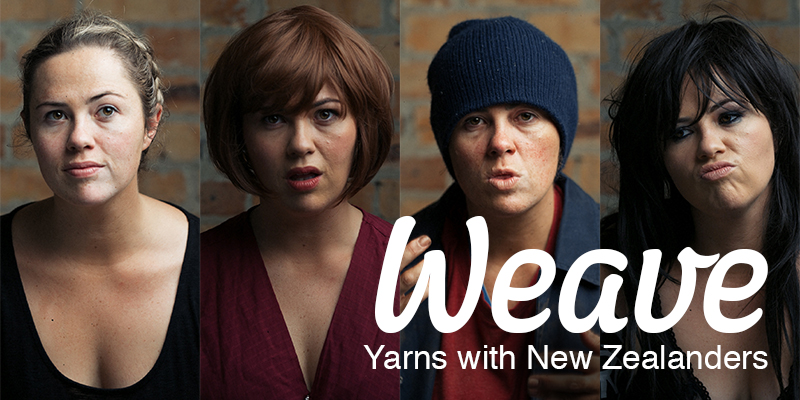 Weave - Yarns with New Zealanders