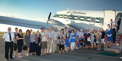 Air Chathams: Sunset Mile High Tea
