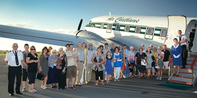Air Chathams: Sunrise Champagne Brunch