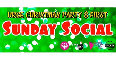 URGE Christmas and First Sunday Social