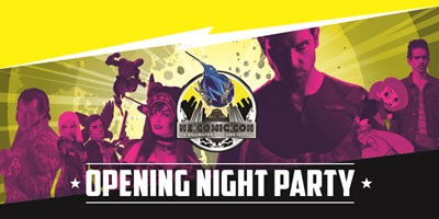 NZ Comic Con Opening Party