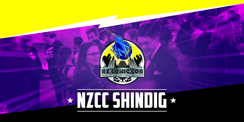 NZ Comic Con Shindig