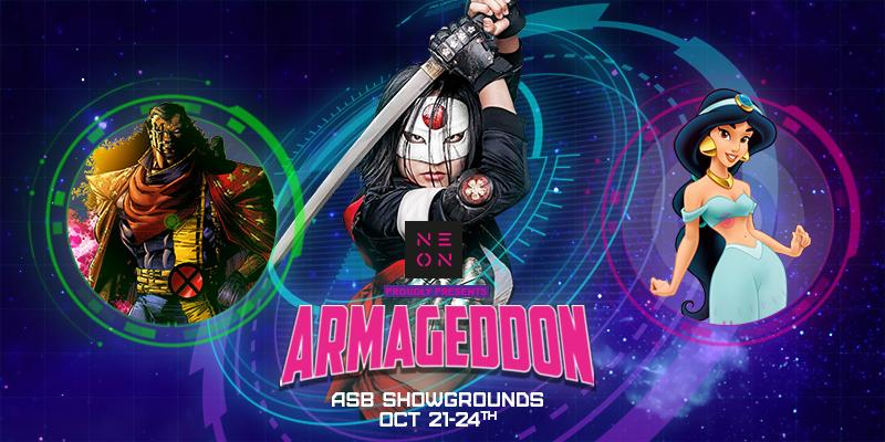 ARMAGEDDON EXPO 2016 - VIP Passes