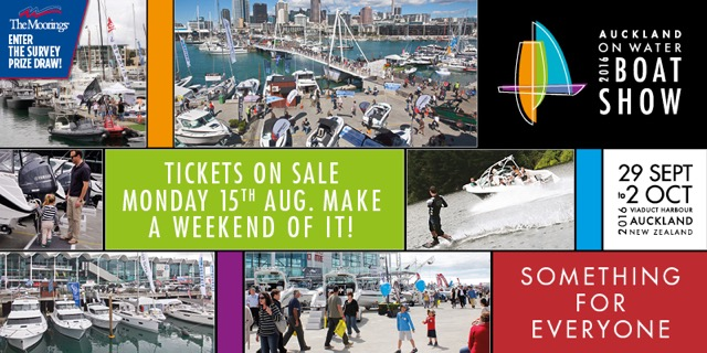 Auckland On Water Boat Show 2016
