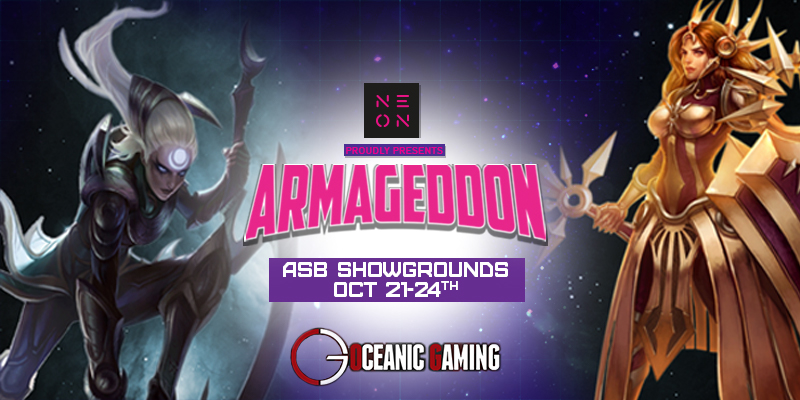 ARMAGEDDON EXPO 2016 - Rivals Of The Rift