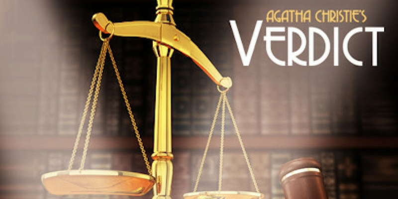 Repertory Players - Verdict. A Play by Agatha Christie