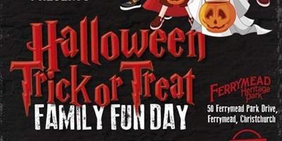 Halloween Trick or Treat Family Fun Day
