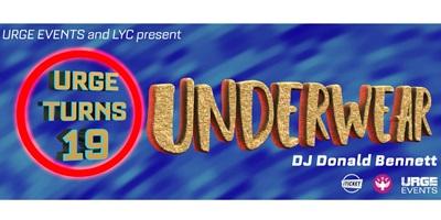 URGE Turns 19: Underwear