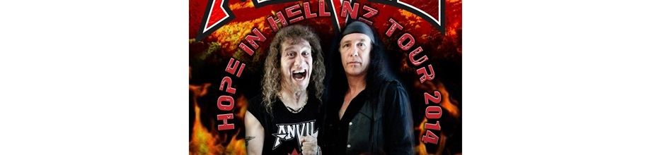 Anvil 'Hope In Hell' NZ Tour
