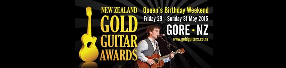 N Z Gold Guitar Awards 2015