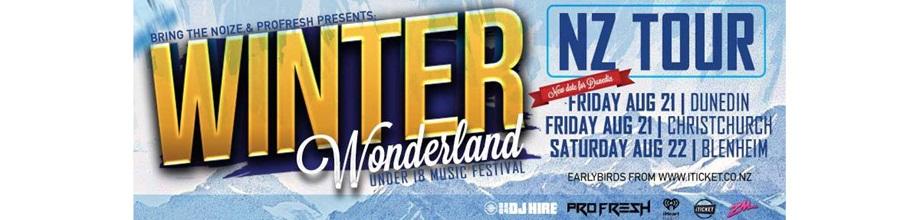 Winter Wonderland New Zealand Tour