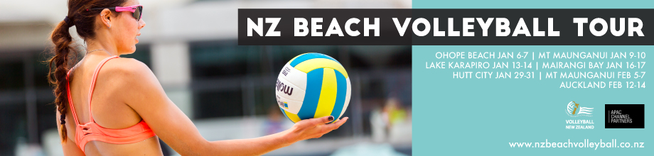New Zealand 2016 Beach Volleyball National and Pro Tour