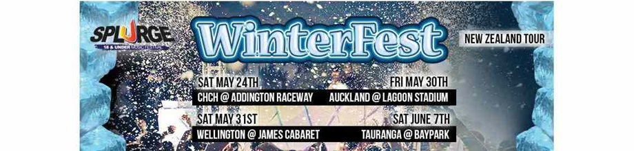 Splurge Winterfest New Zealand Tour