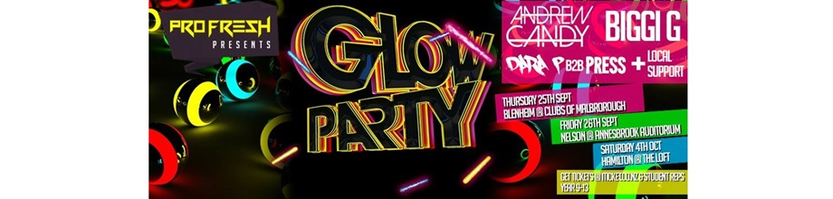 The Pro Fresh Glow Party Tour